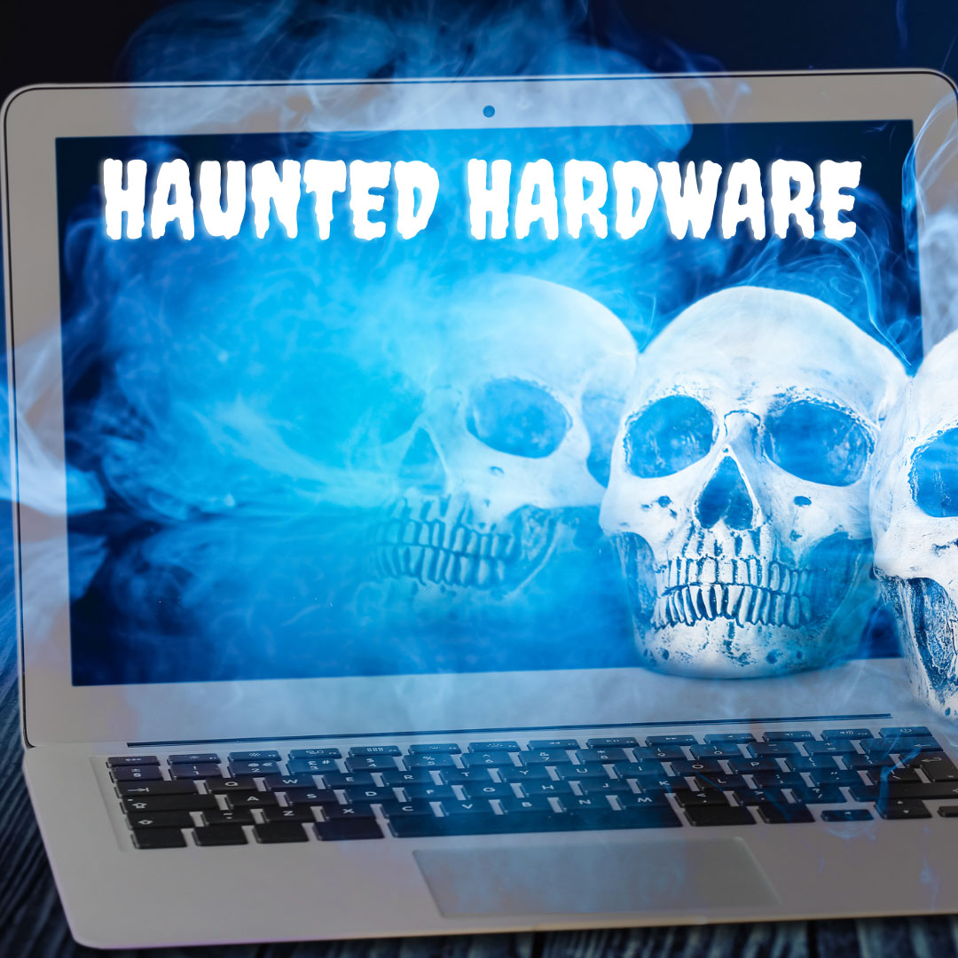 Haunted Hardware: How Your Company's Old Computers Could Come Back to Scare You